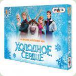 Настільна гра Strateg Бродилки Холодне серце (060)