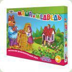 Настільна гра Strateg Бродилки Маша і Ведмідь (183)