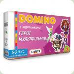 Настільна гра Strateg Доміно Герої мультфільмів (679)