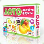 Настільна гра Strateg Лото Овочі і фрукти (161)