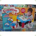 Навчальний стіл Same Toy My Fun Creative table з аксесуарами 8810Ut