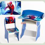 Парта зростаюча + стілець, Людина - павук