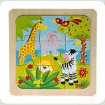 Пазл дерев'яний goki Африка 57499-3