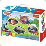 Пазл Trefl Baby Classic Томас і його друзі 14 елементів (36066)