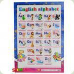 Плакат Світогляд Англійська абетка, укр. (12104098А)