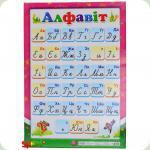 Плакат Світогляд Український алфавіт, укр. (12104095У)