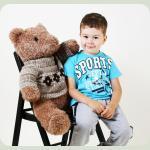 Плюшевий ведмедик Teddy 80 см