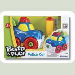 """Поліцейська машина """"Будуй та грай"""", конструктор"""