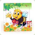 Рамка-пазл міні Бджілка
