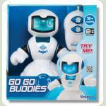 Робот-кіборг, синій