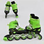 Ролики Best Roller Розмір 34-37 (М) Зелені (А 25512/60590)