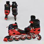 Ролики Best Roller Розмір 38-41 (L) Чорно-червоні (А 25523/23664)