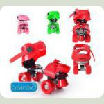 Ролики Profi Roller MS 0037 Рожевий