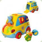 Розвиваюча іграшка Joy Toy Автошка, укр. (9198 UA)