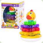 Розвиваюча іграшка Limo Toy Логічна пірамідка (7015-7040)