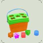 """Розвиваюча іграшка-сортер """"Веселі фігурки"""""""