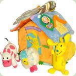 Розвиваючий активний будиночок Biba Toys Щаслива ферма (719BS)