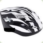 Шолом Profi Trike MS 0343 Білий з чорним