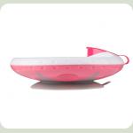 Тарілка з присоскою BabyOno 1070 Рожева
