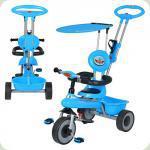 Триколісний велосипед Bambi M 5366-1 Блакитний
