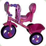 Триколісний велосипед Tilly Combi Trike Рожевий (BT-CT-0008)