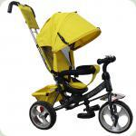 Триколісний велосипед Tilly Trike T-343 Yellow / Grey