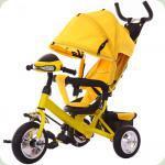 Триколісний велосипед Tilly Trike T-346 Жовтий