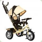 Триколісний велосипед Turbo Trike M 3113-7A Бежевий
