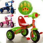 Триколісний велосипед Turbo Trike M 3170-1 Блакитний