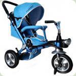 Триколісний велосипед Turbo Trike M AL3645A-12 Блакитний