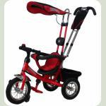 Велосипед 3-х колісний Mini Trike надувні (червоний)