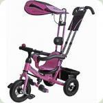 Велосипед 3-х колісний Mini Trike надувні (рожевий)