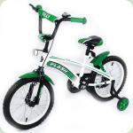 "ВЕЛОСИПЕД BABY TILLY FLASH 16"" GREEN (T-21641)"