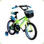 """Велосипед двоколісний 16 """"SW-17005-16 салатовий"""