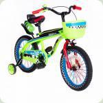"""Велосипед двоколісний 16 """"SW-17006-16 салатовий"""