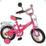 """Велосипед Profi Trike P1234 12 """"Рожевий"""