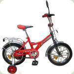 """Велосипед Profi Trike P1426 14 """"Червоно-чорний"""