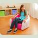 Дитяче велюровое крісло Intex 68597 Рожевий
