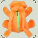 Рюкзак Бегемотик, 55 см