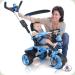 Триколісний велосипед Injusa City Trike 3261-002 Голубо-чорний